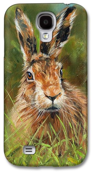 hARE Galaxy S4 Case by David Stribbling