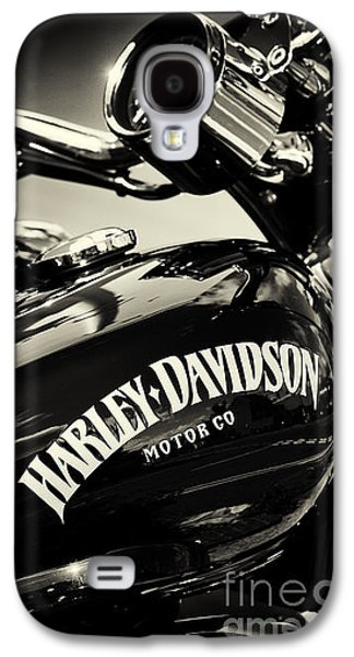 Harley D Sepia Galaxy S4 Case by Tim Gainey