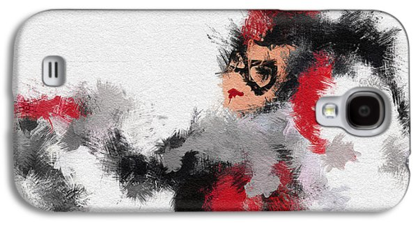 Icons Prints Paintings Galaxy S4 Cases - Harley Quinn Galaxy S4 Case by Miranda Sether