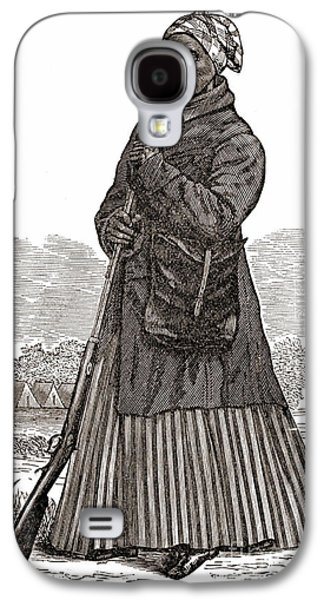 Slaves Galaxy S4 Cases - Harriet Tubman, American Abolitionist Galaxy S4 Case by Photo Researchers