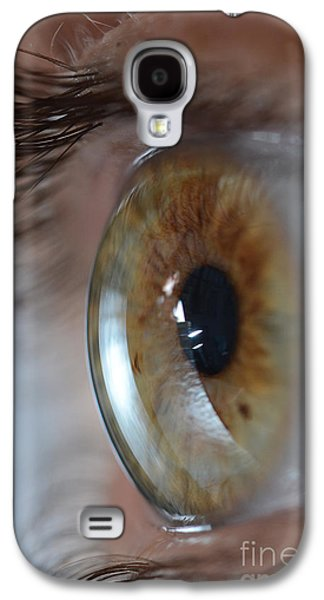 Recently Sold -  - Person Galaxy S4 Cases - Hazel Eye Galaxy S4 Case by Photo Researchers, Inc.