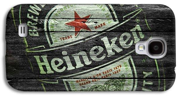 Breweries Galaxy S4 Cases - Heineken Galaxy S4 Case by Joe Hamilton