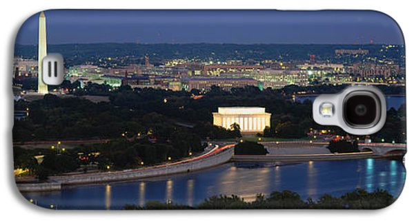 High Angle View Of A City, Washington Galaxy S4 Case by Panoramic Images