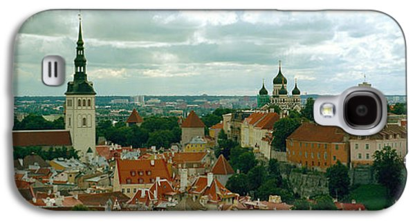 Tallinn Galaxy S4 Cases - High Angle View Of A Townscape, Old Galaxy S4 Case by Panoramic Images