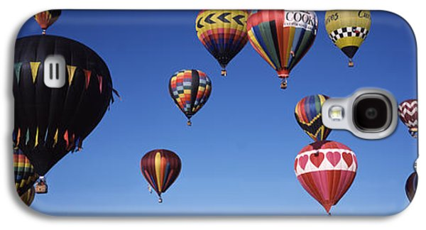 Hovering Galaxy S4 Cases - Hot Air Balloons Floating In Sky Galaxy S4 Case by Panoramic Images