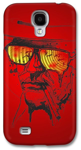 Person Galaxy S4 Cases - Hunter S. Thompson Galaxy S4 Case by Pop Culture Prophet