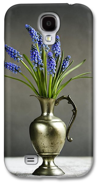 Concept Photographs Galaxy S4 Cases - Hyacinth Still Life Galaxy S4 Case by Nailia Schwarz