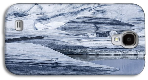 Temperature Galaxy S4 Cases - Icebergs, Hoffellsjokull Glacier Galaxy S4 Case by Panoramic Images