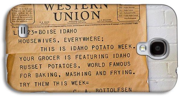 Idaho Potato Museum Galaxy S4 Case by Jim West