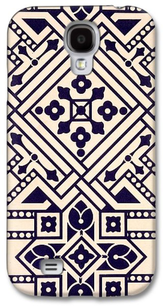 Tapestries - Textiles Galaxy S4 Cases - Illustration from Studies in Design Galaxy S4 Case by Christopher Dresser