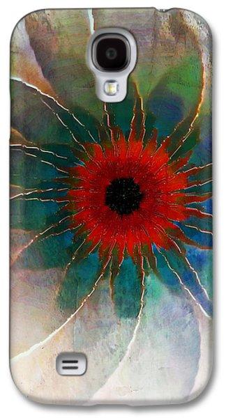 Floral Digital Art Digital Art Galaxy S4 Cases - In Glass Galaxy S4 Case by Amanda Moore