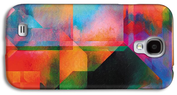 Surreal Landscape Drawings Galaxy S4 Cases - In The Land Of Forgetting 22 Galaxy S4 Case by Jeanette Charlebois