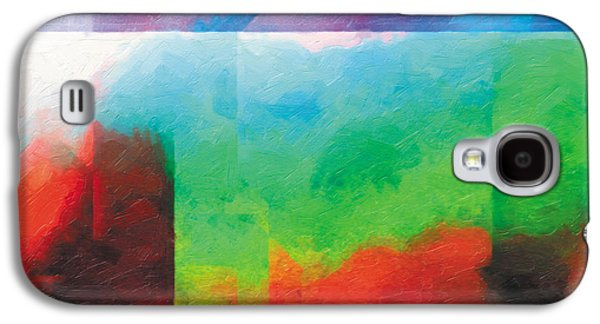 Surreal Landscape Drawings Galaxy S4 Cases - In The Land Of Forgetting 4 Galaxy S4 Case by Jeanette Charlebois