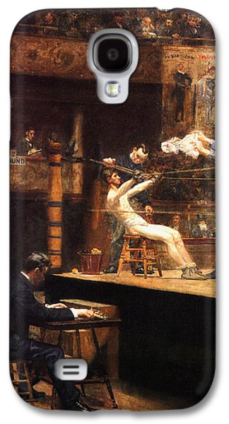Boxer Galaxy S4 Cases - In The Mid Time Galaxy S4 Case by Thomas Eakins