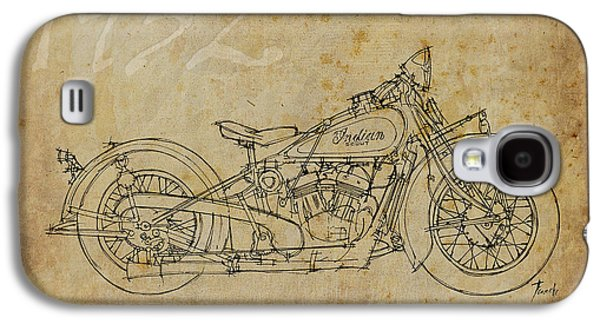 Indian Scout 1932 Galaxy S4 Case by Pablo Franchi