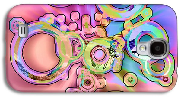 Abstract Digital Digital Art Galaxy S4 Cases - Inner Workings Galaxy S4 Case by Anthony Caruso