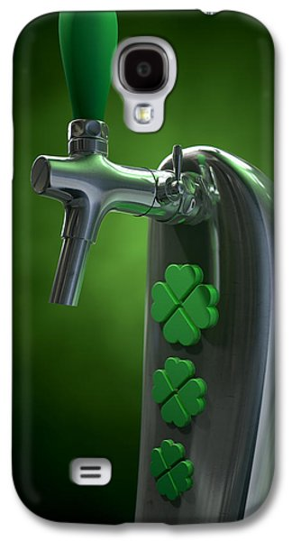 Machinery Galaxy S4 Cases - Irish Beer Tap Galaxy S4 Case by Allan Swart