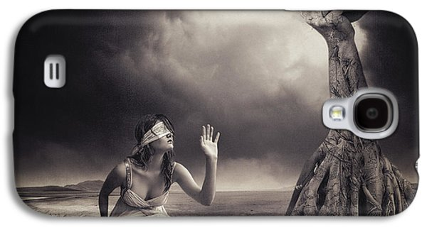 Person Galaxy S4 Cases - Is There Anybody Out There? Galaxy S4 Case by Erik Brede