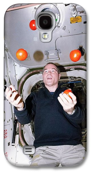 Iss Astronaut Juggling Galaxy S4 Case by Nasa