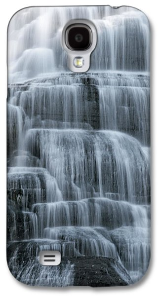 Ithaca Galaxy S4 Cases - Ithaca Water Falls New York Panoramic Photography Galaxy S4 Case by Paul Ge