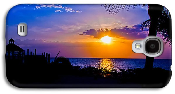 Keith Ducker Galaxy S4 Cases - Jamaican Sunset Galaxy S4 Case by Keith Ducker
