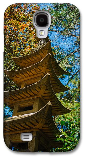 Usa Photographs Galaxy S4 Cases - Japanese shrine in the garden Galaxy S4 Case by Sarit Sotangkur