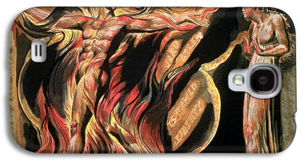 Posters Of Nudes Galaxy S4 Cases - Jerusalem The Emanation of the Giant Albion Galaxy S4 Case by William Blake