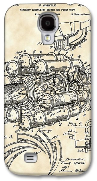 Mechanism Galaxy S4 Cases - Jet Engine Patent 1941 - Vintage Galaxy S4 Case by Stephen Younts