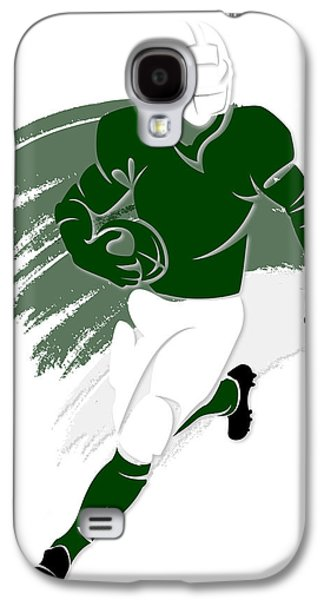 New York Jets Galaxy S4 Cases - Jets Shadow Player2 Galaxy S4 Case by Joe Hamilton