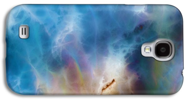 Purple Abstract Beige Galaxy S4 Cases - 1 John 3 2. Gracious Uncertainty Galaxy S4 Case by Mark Lawrence