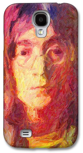 Beatles Galaxy S4 Cases - John Lennon Galaxy S4 Case by Taylan Soyturk