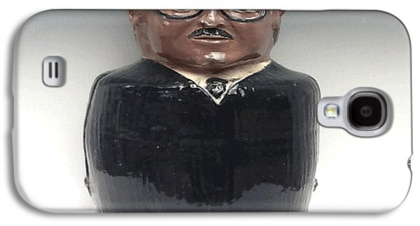 Ceramic Ceramics Galaxy S4 Cases - Justice Thurgood Marshall Galaxy S4 Case by David Mack