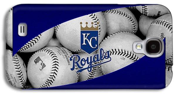 Foul Ball Galaxy S4 Cases - Kansas City Royals Galaxy S4 Case by Joe Hamilton