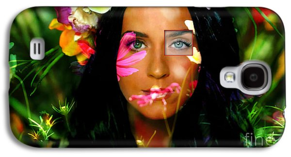 Katy Perry Galaxy S4 Cases - Katy Perry  Galaxy S4 Case by Marvin Blaine