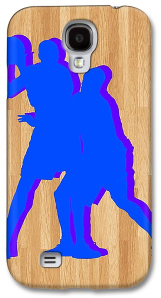 Kobe Galaxy S4 Cases - Kevin Durant Kobe Bryant Galaxy S4 Case by Joe Hamilton