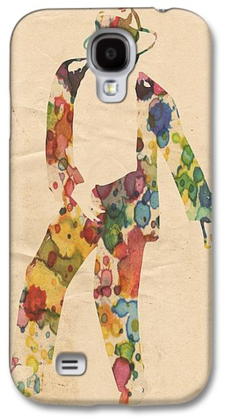Mj Digital Art Galaxy S4 Cases - King of Pop In Concert no 6 Galaxy S4 Case by Florian Rodarte