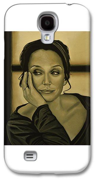 Kristin Scott Thomas Galaxy S4 Case by Paul Meijering