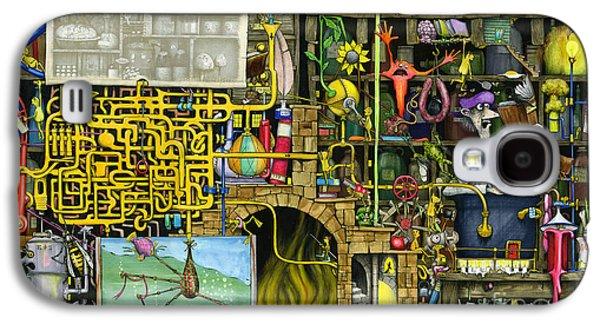 Mechanics Digital Galaxy S4 Cases - Laboratory Galaxy S4 Case by Colin Thompson