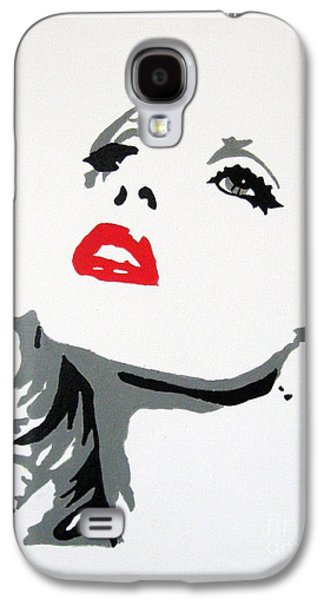 Painter Mixed Media Galaxy S4 Cases - Lady Gaga Galaxy S4 Case by Venus
