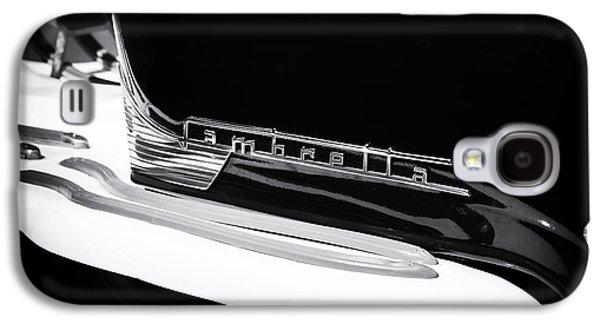 60s Photographs Galaxy S4 Cases - Lambretta Monochrome Galaxy S4 Case by Tim Gainey