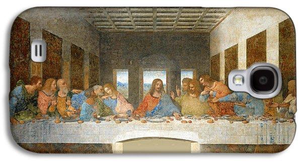 Last Supper Galaxy S4 Cases - Last Supper Galaxy S4 Case by Leonardo Da Vinci