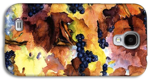 Vineyard In Napa Galaxy S4 Cases - Late Harvest 3 Galaxy S4 Case by Maria Hunt