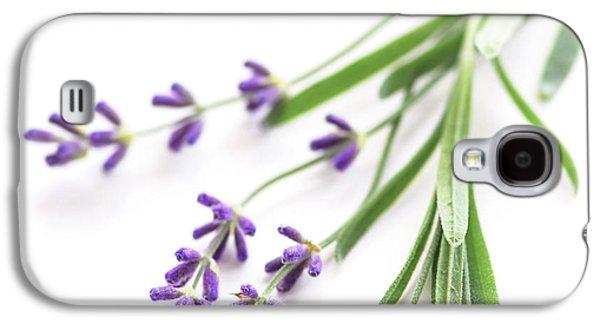 Lavender Galaxy S4 Case by Elena Elisseeva