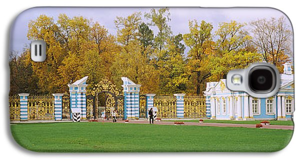 Catherine Galaxy S4 Cases - Lawn In Front Of A Palace, Catherine Galaxy S4 Case by Panoramic Images