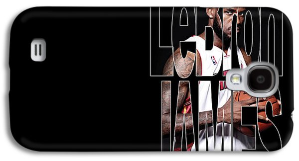 Lebron James Galaxy S4 Case by Marvin Blaine
