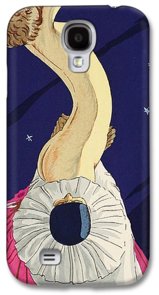 Nudes Drawings Galaxy S4 Cases - Les Cinq Sens Galaxy S4 Case by Ettore Tito
