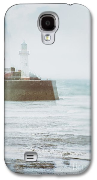Dog Walking Galaxy S4 Cases - Lighthouse Galaxy S4 Case by Amanda And Christopher Elwell