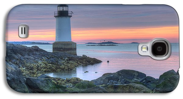 New England Ocean Galaxy S4 Cases - Lighthouse Galaxy S4 Case by Juli Scalzi