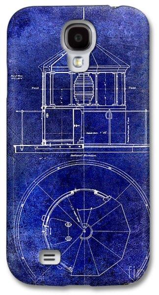 Light Drawings Galaxy S4 Cases - Lighthouse Lantern Lense Order Blueprint  Galaxy S4 Case by Jon Neidert
