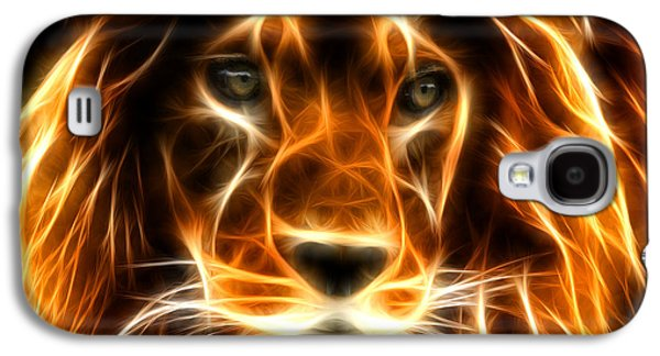 Animation Galaxy S4 Cases - Lion  Galaxy S4 Case by Mark Ashkenazi